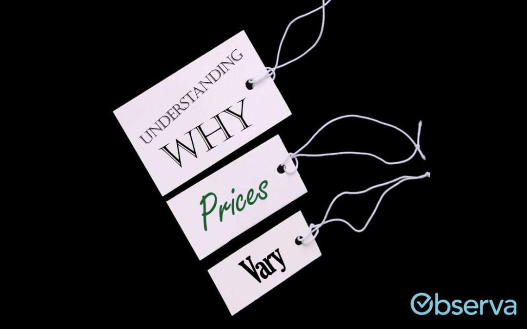 Understanding Why Prices Vary from Store to Store